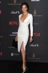 Tricia Helfer - Weinstein Co & Netflix Golden Globe 2016 Awards After Party in Beverly Hills