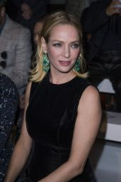 Uma Thurman - Ralph & Russo Spring Summer 2016 Fashion Show in Paris