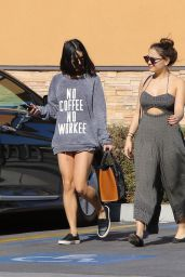 Vanessa and Stella Hudgens - Leaving Walgreens in Los Angeles, January 2016