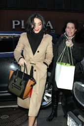 Vanessa Hudgens at the TODAY Show in New York City, January 2016