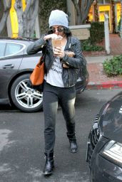 Vanessa Hudgens Casual Style - Leaving