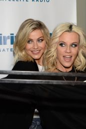 Vanessa Hudgens & Julianne Hough - SiriusXM Studios in New York City, January 2016