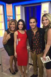 Vanessa Hudgens Social Media Pics 1/19/2016