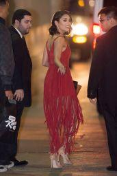 Vanessa Huidgens - Leaving Jimmy Kimmel Live in LA 1/20/2016