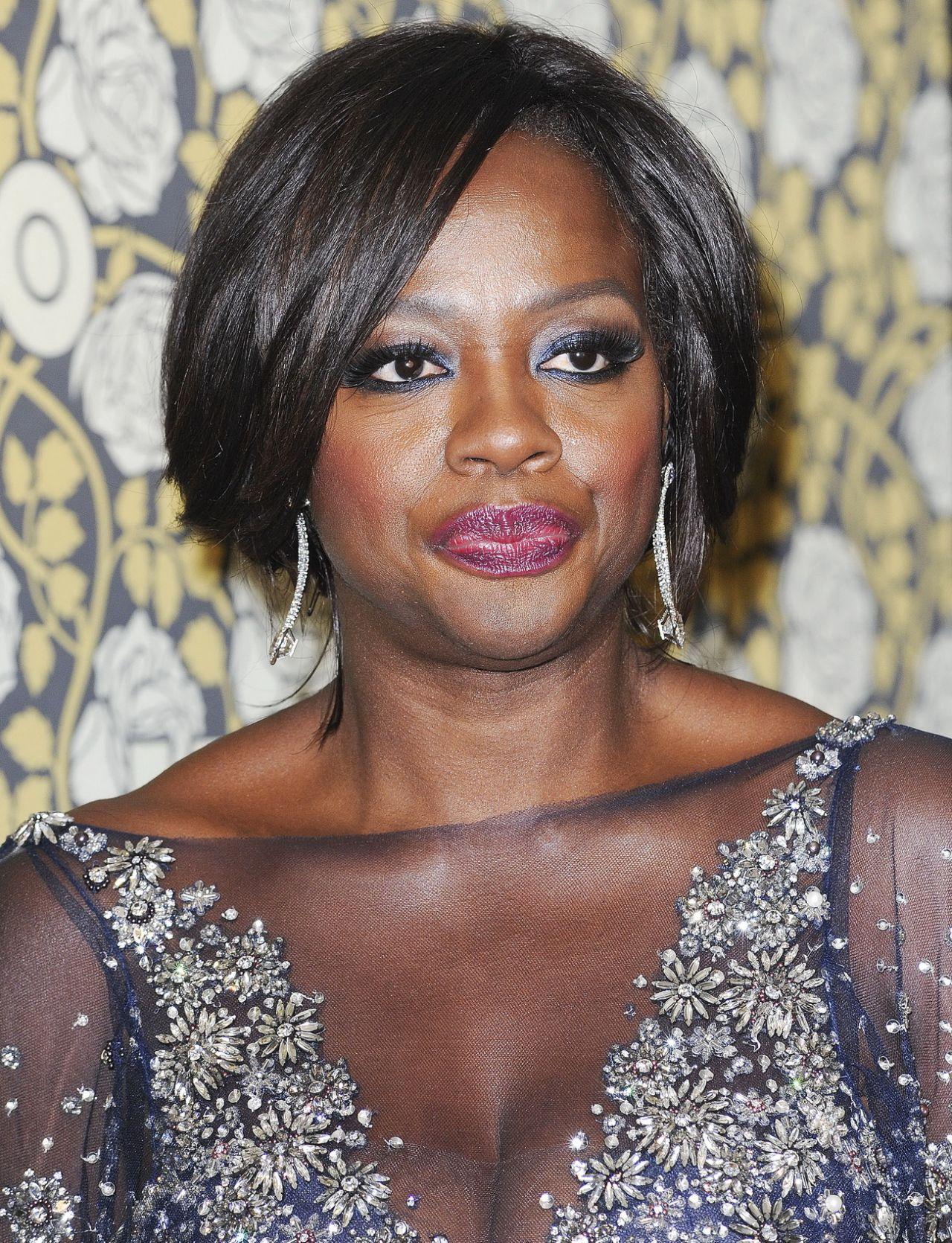 Viola Davis Hbo S Post 2016 Golden Globe Awards Party In