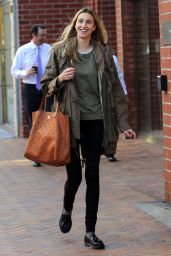 Whitney Port Street Style - Out in Beverly Hills, January 2016