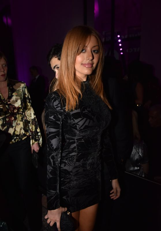 Zahia Dehar – 50th Anniversary Of Emanuel Ungaro in Paris 1/26/2016