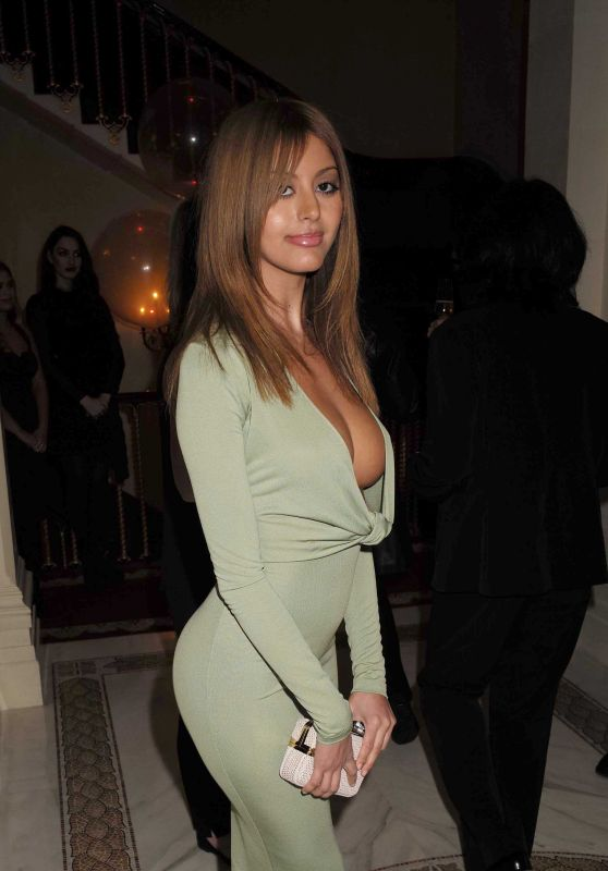 Zahia Dehar - Lisa Tchenguiz's 51st Birthday Party in London, January  24, 2016