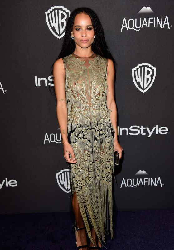 Zoe Kravitz - InStyle And Warner Bros. Golden Globe Awards 2016 Post-Party in Beverly Hills