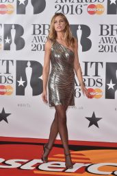 Abbey Clancy - BRIT Awards 2016 in London, UK