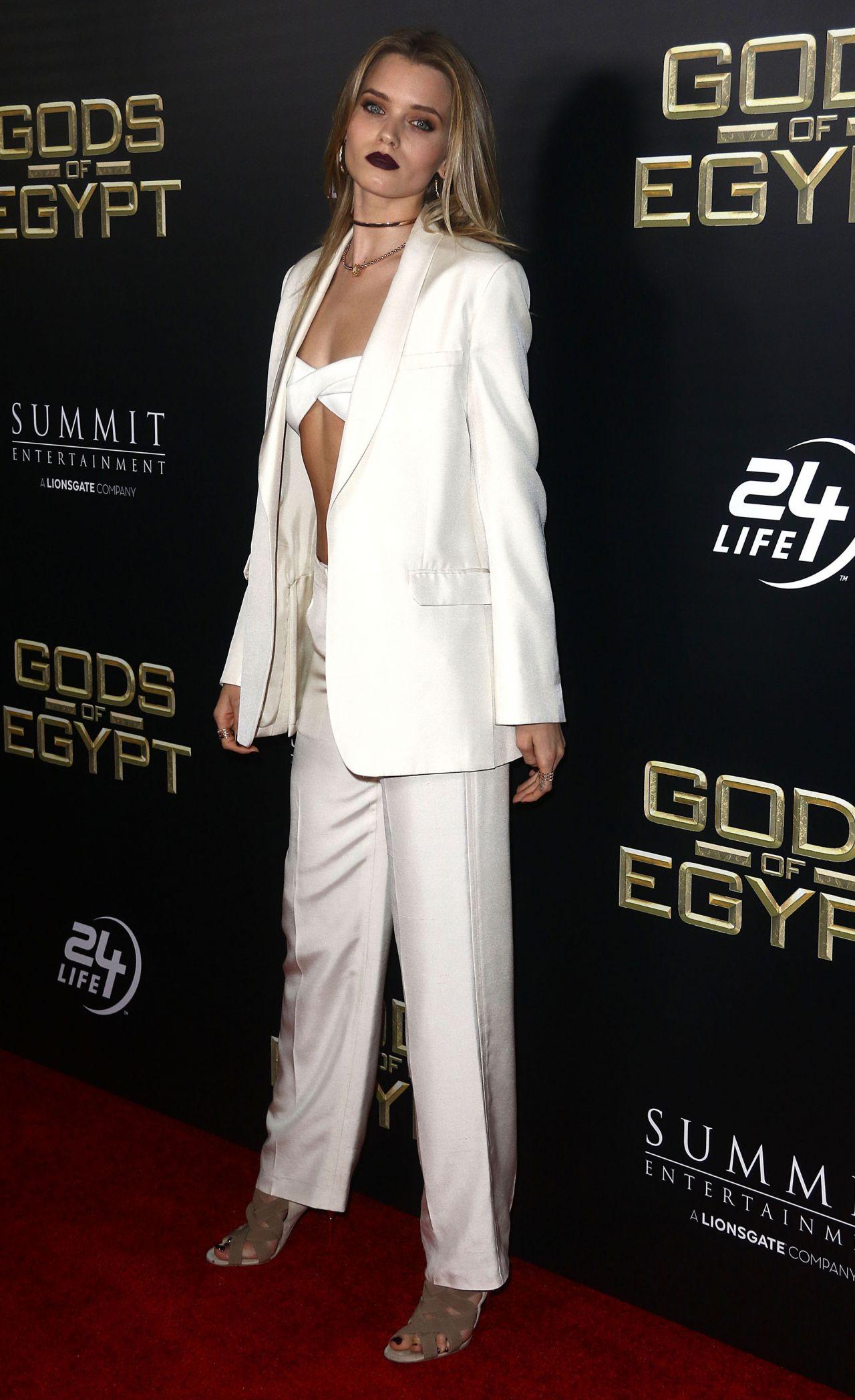 Abbey Lee Kershaw Gods Of Egypt Premiere In New York