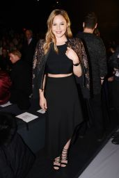 Abbie Cornish - BCBGMAXAZRIA Fall 2016 Show in New York City 2/11/2016