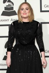 Adele – 2016 Grammy Awards in Los Angeles, CA