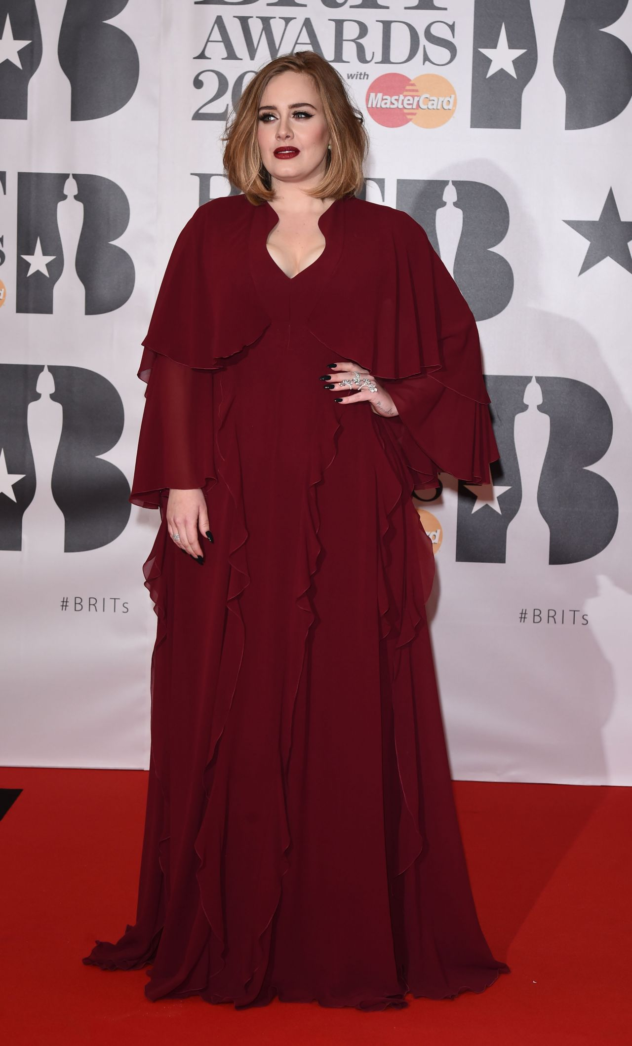 Adele BRIT Awards 2016 In London
