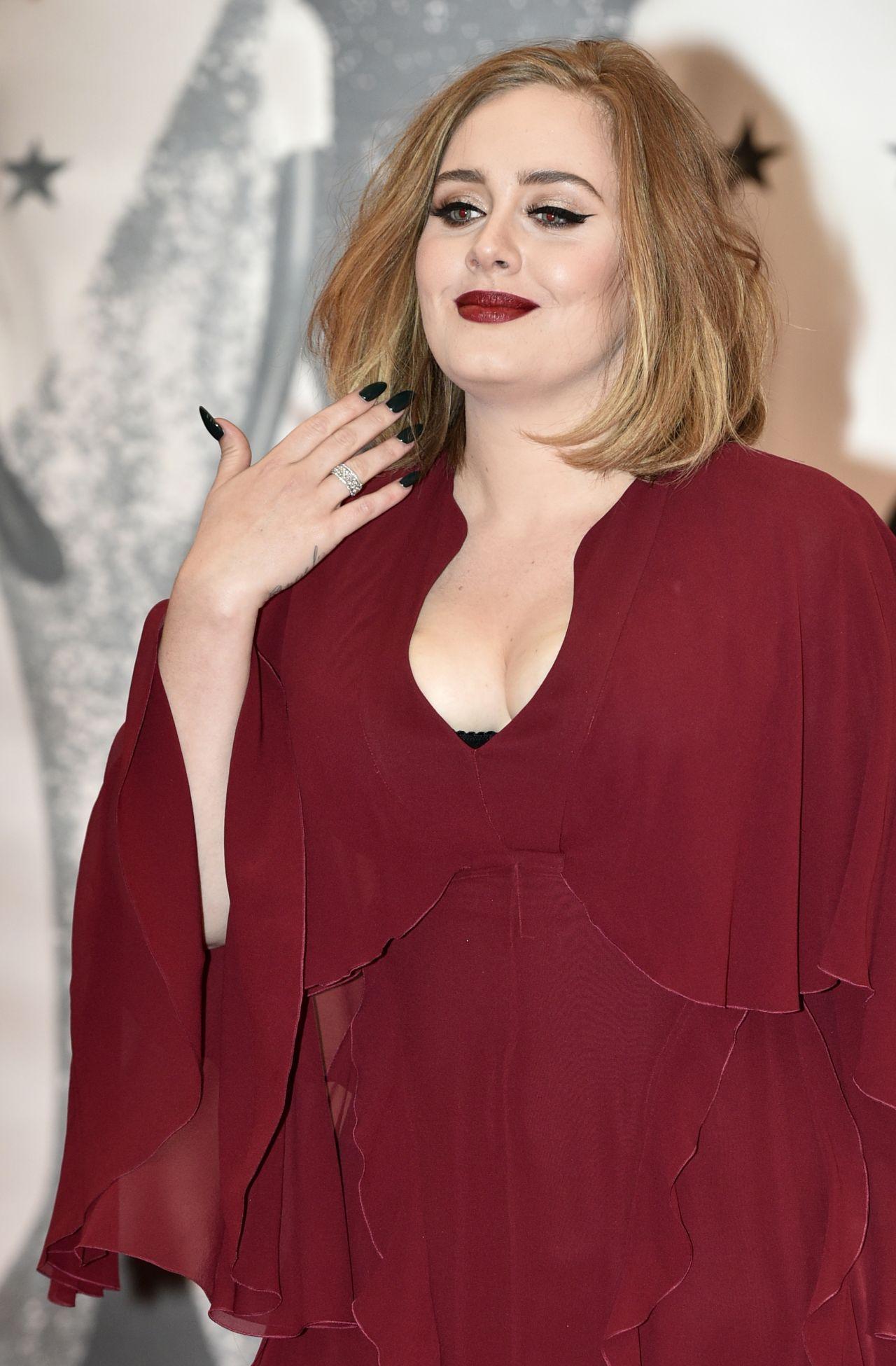 Adele Brit Awards 2016 In London