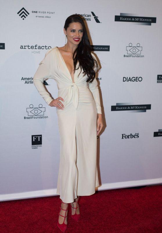 Adriana Lima - Brazil Foundation Gala in Miami, Florida January 2016