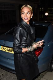 Alesha Dixon - Arrives Back at Her Hotel in Birmingham 2/5/2016