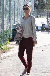 Alessandra Ambrosio at the Park in Brentwood 2/2/2016