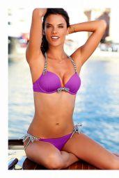 Alessandra Ambrosio Bikini Pics - Girls Bravo Magazine January 2016 USA