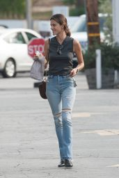Alessandra Ambrosio Booty in Jeans - Out in Los Angeles 2/23/2016