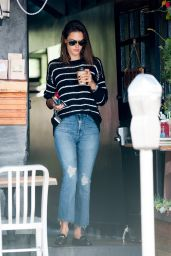 Alessandra Ambrosio in Jeans - Out in Los Angeles, CA 2/26/2016