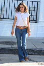 Alessandra Ambrosio in Jeans - Out in West Hollywood 2/22/2016