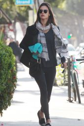 Alessandra Ambrosio - Out in Santa Monica 2/20/16