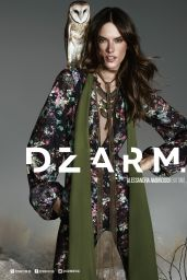 Alessandra Ambrosio - Photo Shoot for Dzarm Fall 2016
