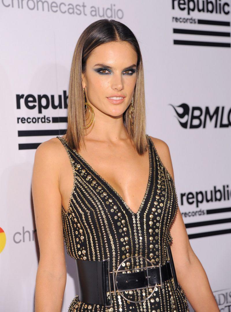 Alessandra Ambrosio - Republic Records Grammy 2016 Celebration in Los ...