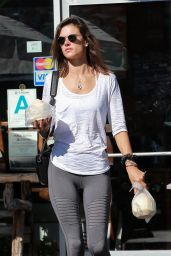 Alessandra Ambrosio Street Style - Going to Her Yoga Class in Santa Monica 2/5/2016