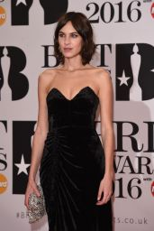 Alexa Chung - BRIT Awards 2016 in London, UK