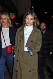 Alexa Chung - Marks and Spencer Party in London, UK 2/18/2016