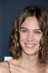 Alexa Chung – Saint Laurent Show at The Palladium in Los Angeles 2/10/2016