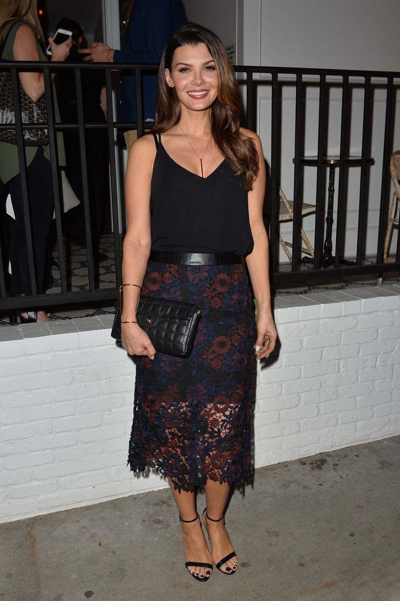 Ali Landry Au Fudge Restaurant Opening In West Hollywood