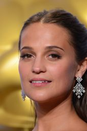 Alicia Vikander – 2016 Oscar Winner for Best Actress in a Supporting Role