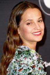 Alicia Vikander - 2016 Women in Film Pre-Oscar Cocktail Party in West Hollywood, CA