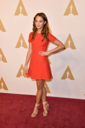 Alicia Vikander - 88th Annual Academy Awards Nominee Luncheon in Beverly Hills, CA