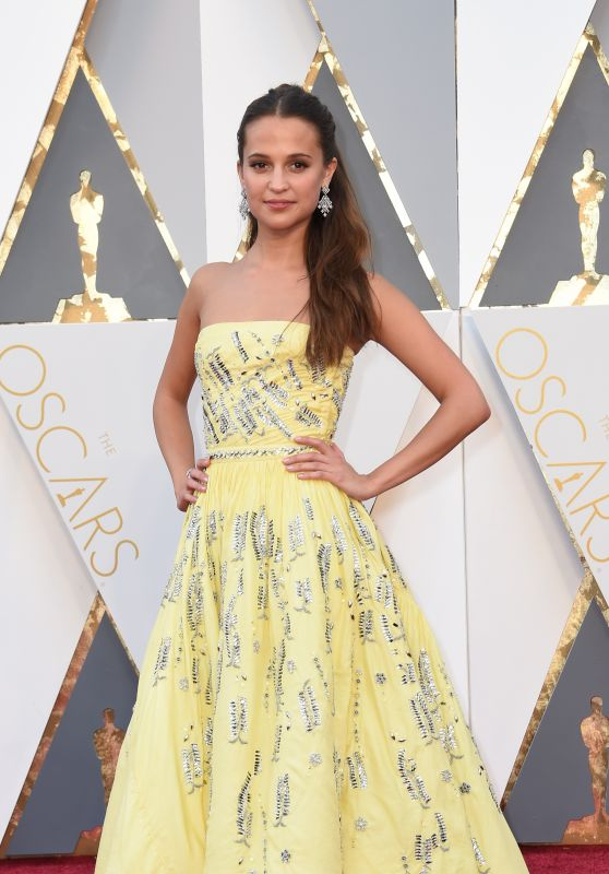 Alicia Vikander - Oscars 2016 in Hollywood, CA 2/28/2016