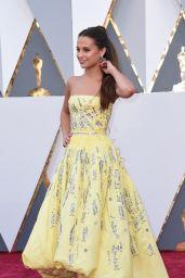 Alicia Vikander - Oscars 2016 in Hollywood, CA 2/28/2016