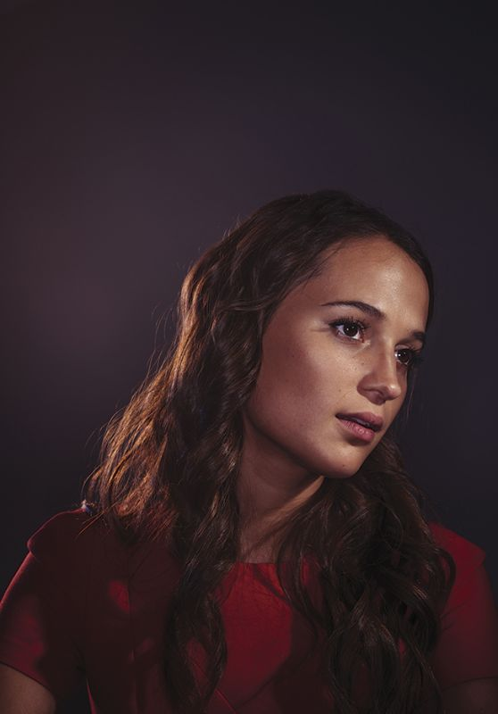 Alicia Vikander – Oscars Nominees Luncheon Portraits, February 2016