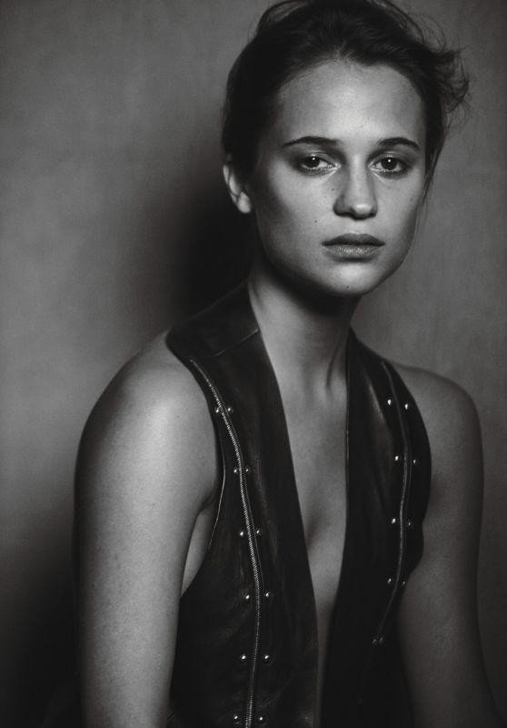 Alicia Vikander - W Magazine February 2016