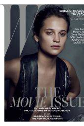 Alicia Vikander - W Magazine February 2016