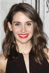 Alison Brie - AOL Build Speaker Series in New York City, Febriary 2016