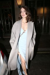 Alison Brie - Leaving Claridge