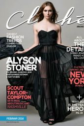 Alyson Stoner - Cliche Magazine February/March 2016 Issue