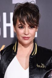 Alyssa Milano - Bleacher Reports Bleacher Ball Presented by go90, February 2016