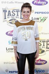 Alyssa Milano - Taste Of The NFL 25th Anniversary Party With A Purpose In San Francisco 2/6/2016