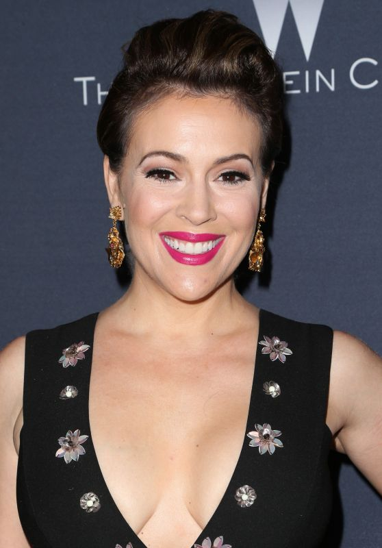 Alyssa Milano - The Weinstein Company