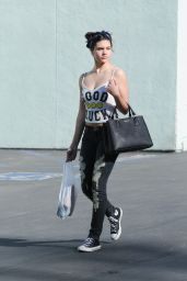 Amber Montana - Leaving Petco in Los Angeles, January 2016