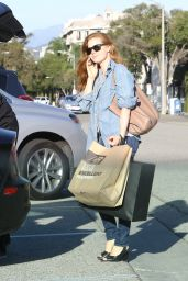 Amy Adams Casual Style - Shopping in Beverly Hills, CA 2/24/2016